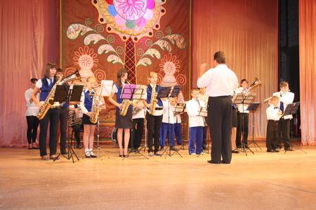 Детский духовой оркестр