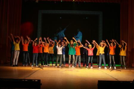 «Молодые голоса России» детская хоровая капелла