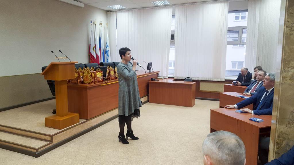 ДК «Россия» поздравил сотрудников ООО «СЭПО-ЗЭМ» с Новым годом