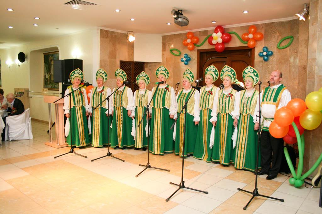 Юбилейный концерт «Поёт Россия в душе моей»