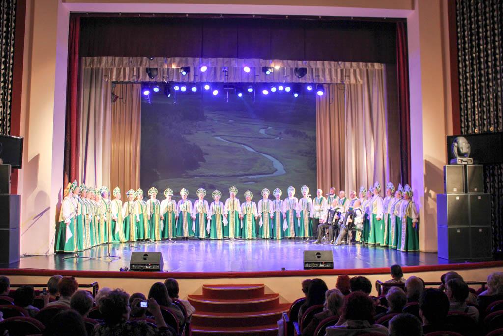 Хору русской песни — 55 лет!