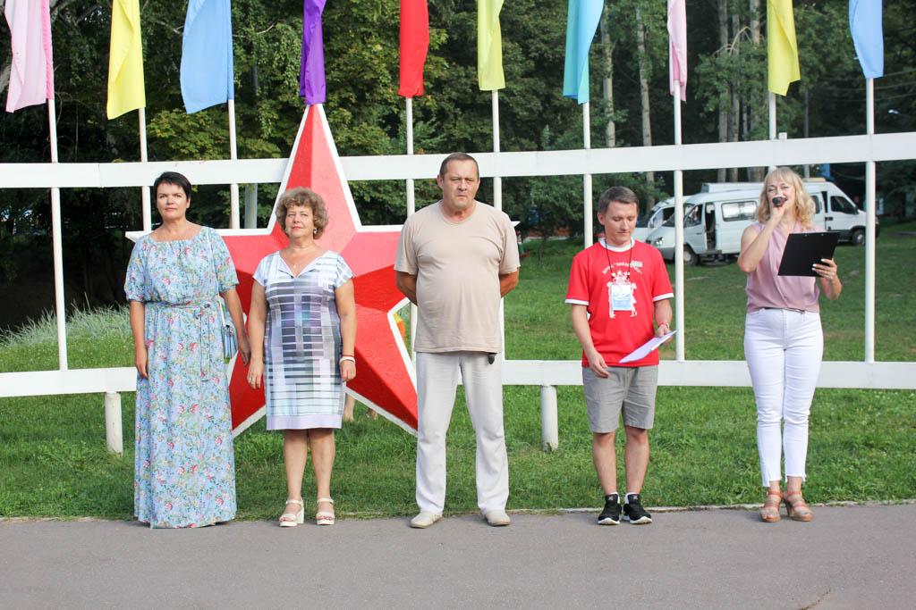 Торжественное открытие 4 смены в детском лагере «Звездочка»