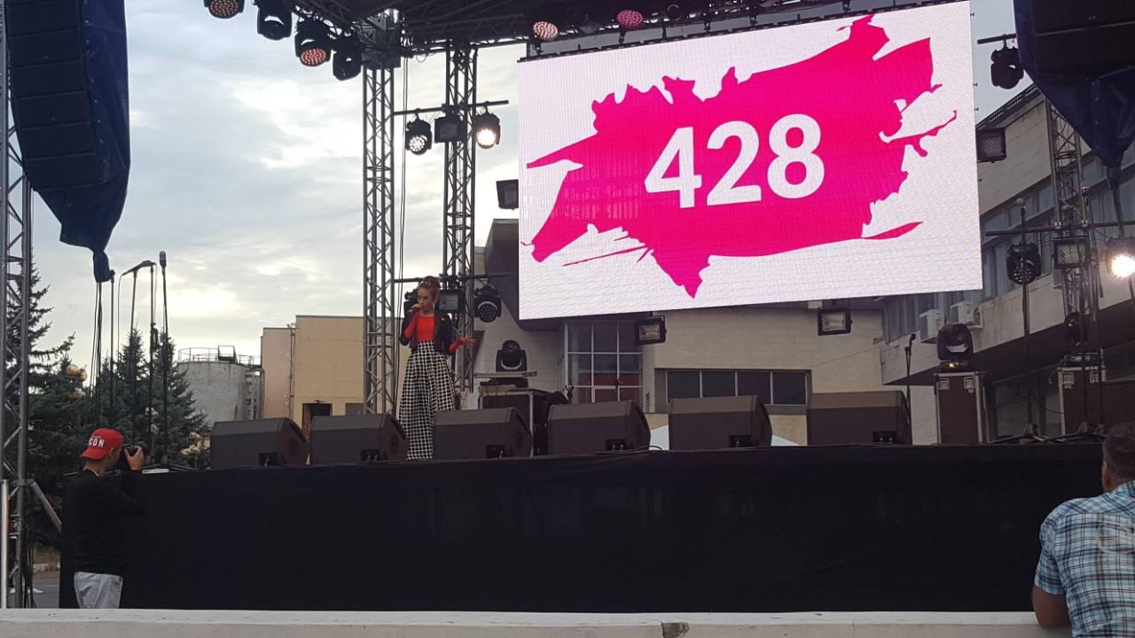 Коллективы ДК «Россия» выступили на День города в Саратове!