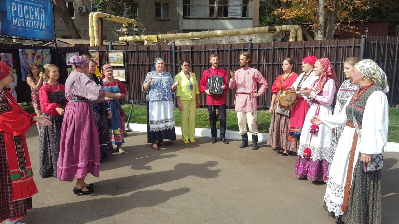 Торжественное открытие музея «Россия — моя история» в г. Саратове