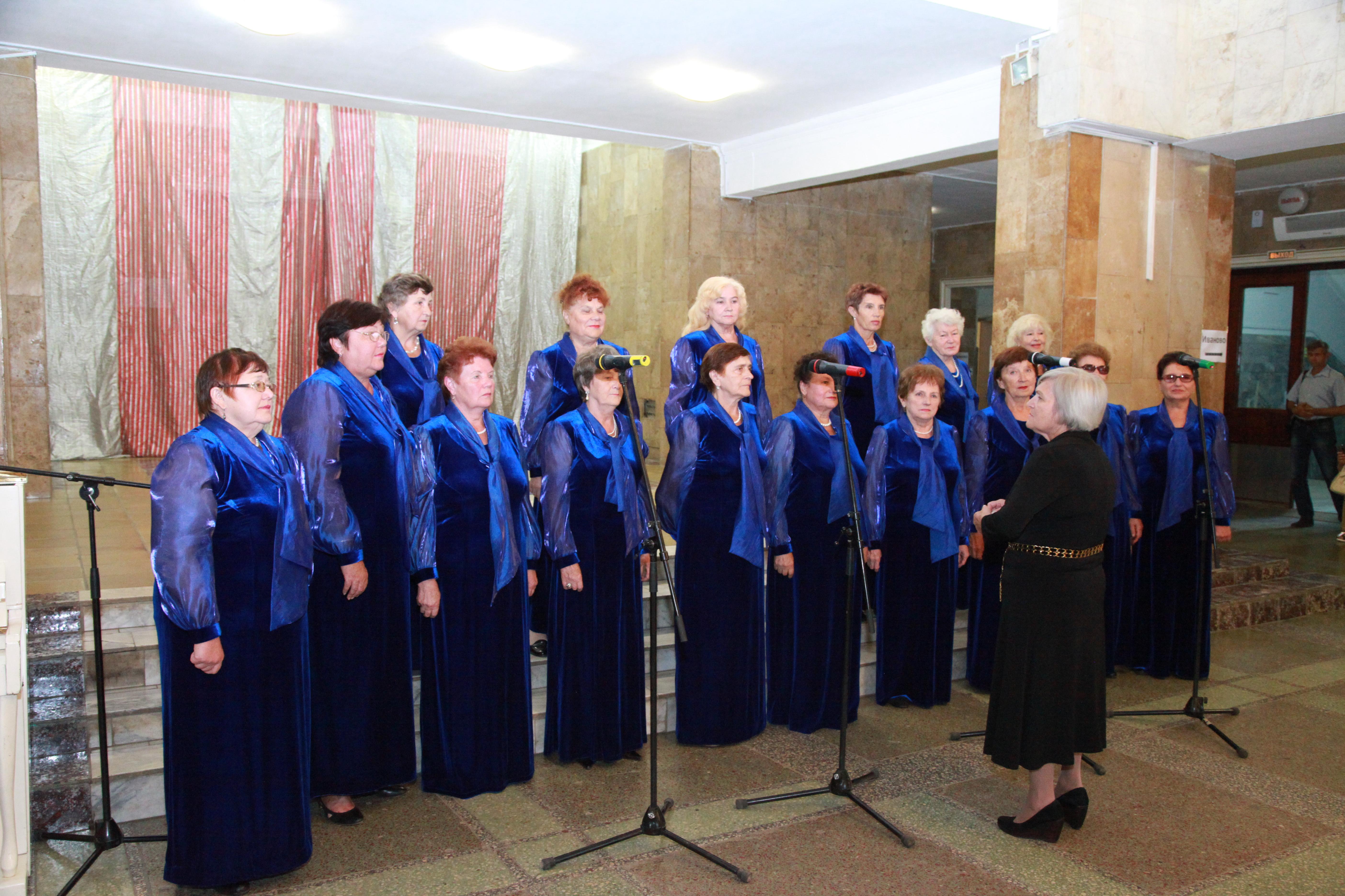 Концерт в ДК «Россия» в единый день голосования.