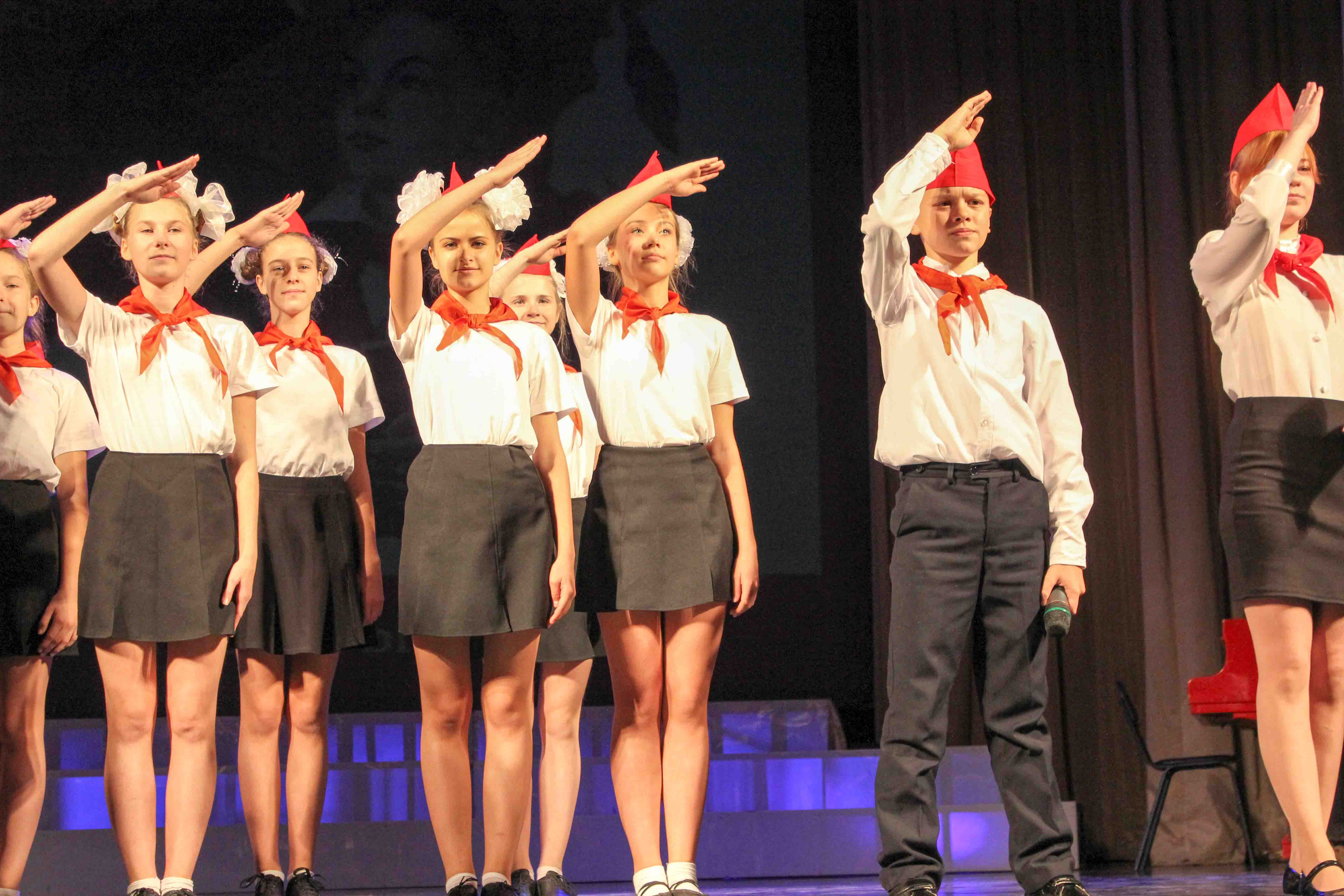 Празднование 100 –летней годовщины со дня образования ВЛКСМ в ДК «Россия»