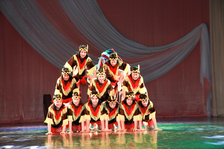 Отчетный концерт ансамбля эстрадного танца «Непоседы»