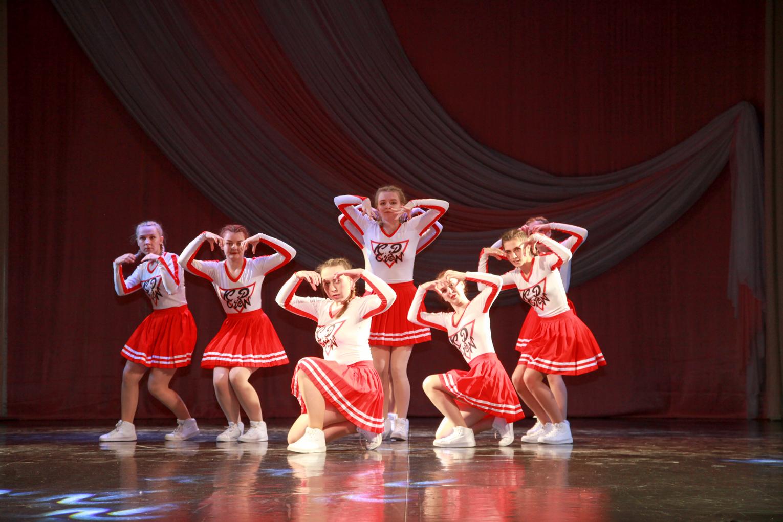 Отчетный концерт ансамбля современного эстрадного танца «Калейдоскоп»