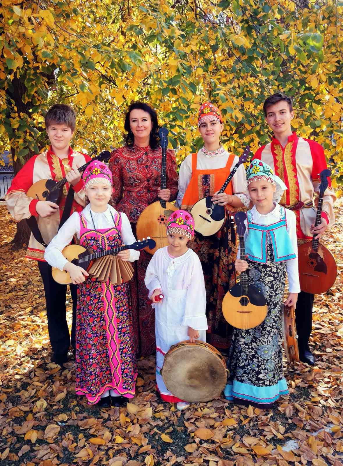 Детский ансамбль народных инструментов «Дударики»