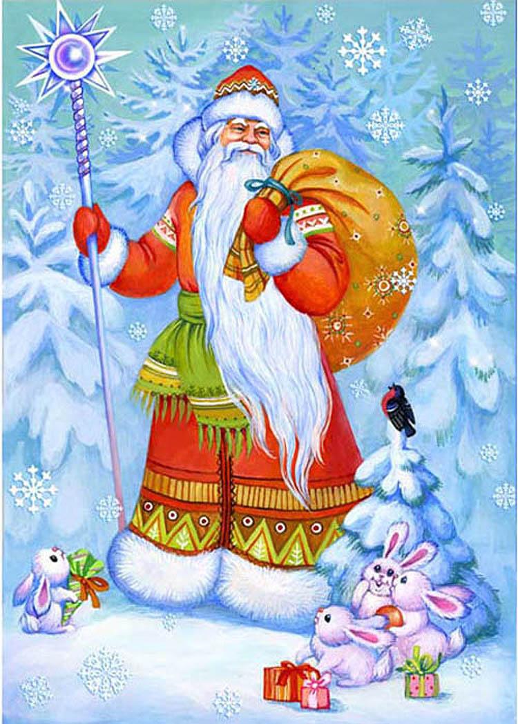 Открытый творческий онлайн — конкурс «Поздравим Деда Мороза с Днем рождения!»