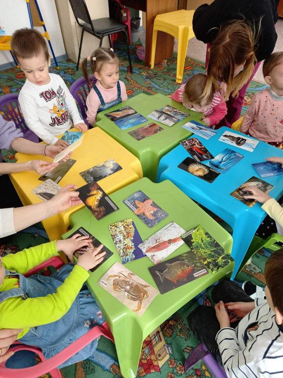 Мастер-класс «Рыбка» в детской студии «Развиваемся играя»