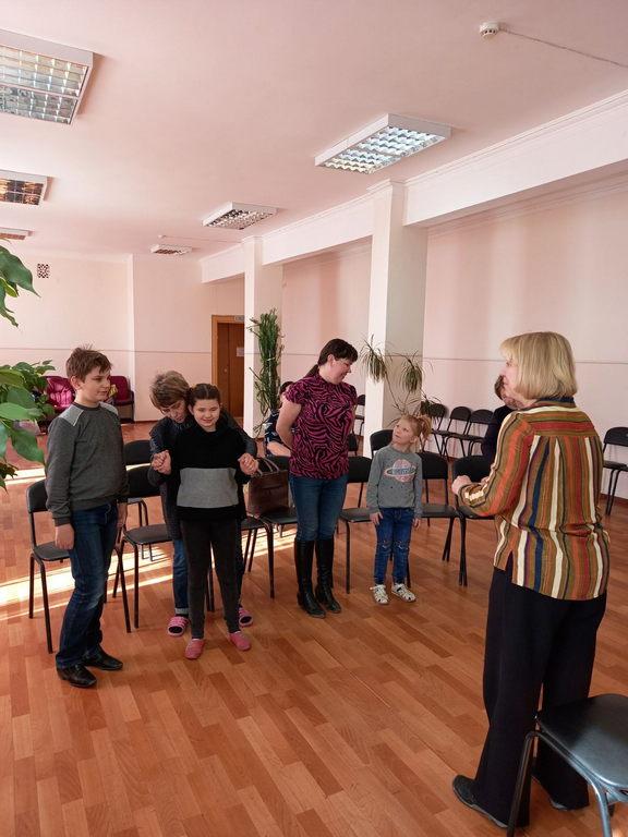 Мастер-класс по вокалу для творческого объединения «Дорога к счастью»